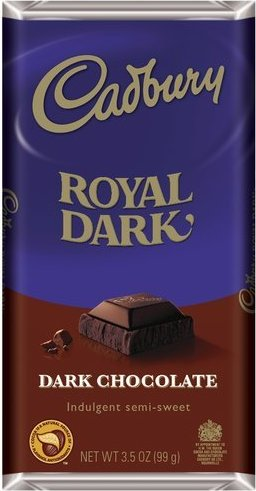 Cadbury Royal Dark Chocolate 99g