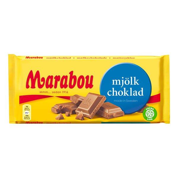 Marabou Mjölkchoklad Chokladkaka - 200 gram