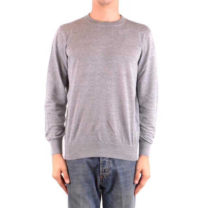 Brunello Cucinelli Men's Sweater Grey 163990 - grey 52