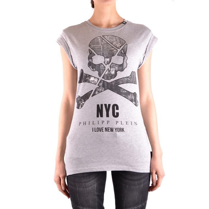 Philipp Plein Women's T-Shirt Grey 162202 - grey XS