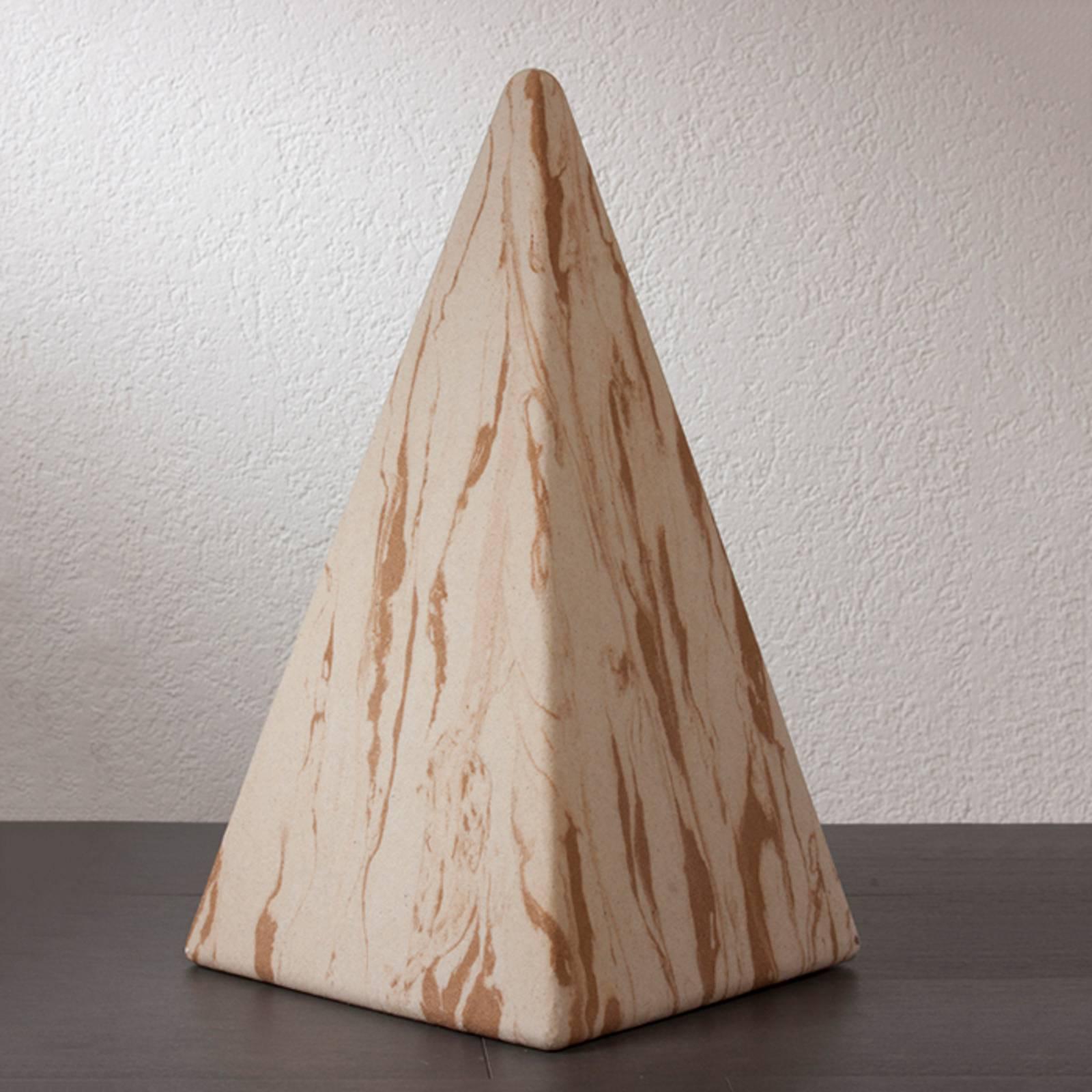 Pyramidi Sahara 73 cm kumialustalla