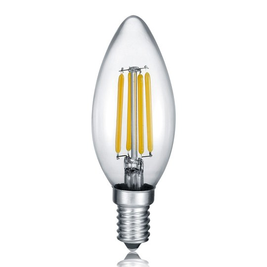 LED-kynttilä E14 4W Filament 2 700 K Switch Dimmer
