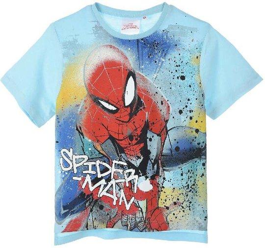 Marvel Spider-Man T-Shirt, Blue, 8 År