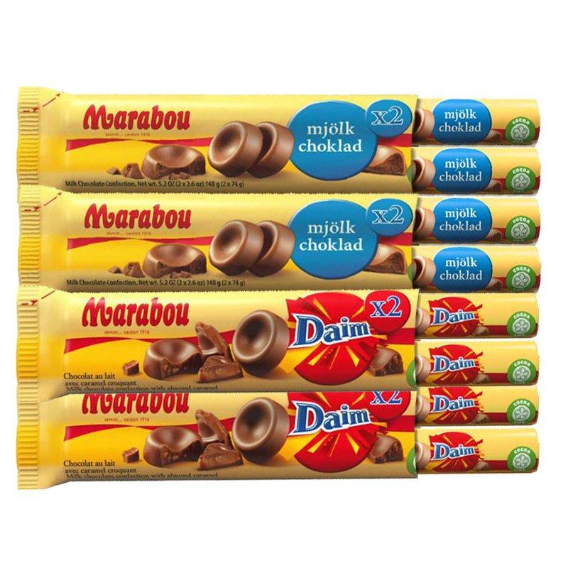 Marabou Chokladpaket - 89% rabatt