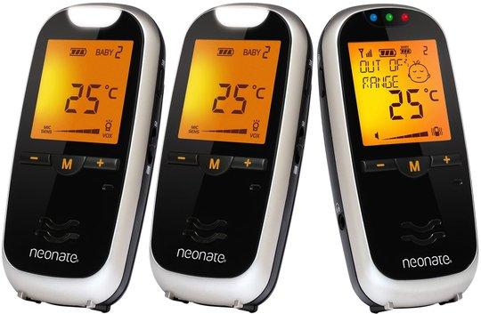 Neonate Digital Babycall BC-6500D + Ekstra enhet