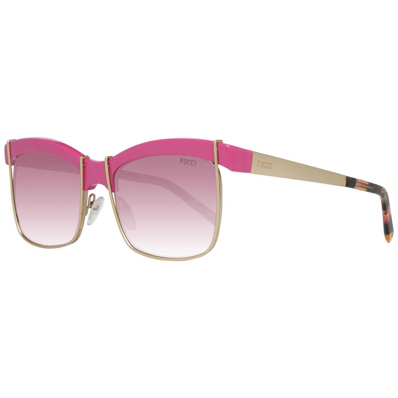 Emilio Pucci Women's Sunglasses Gold EP0058 5675T