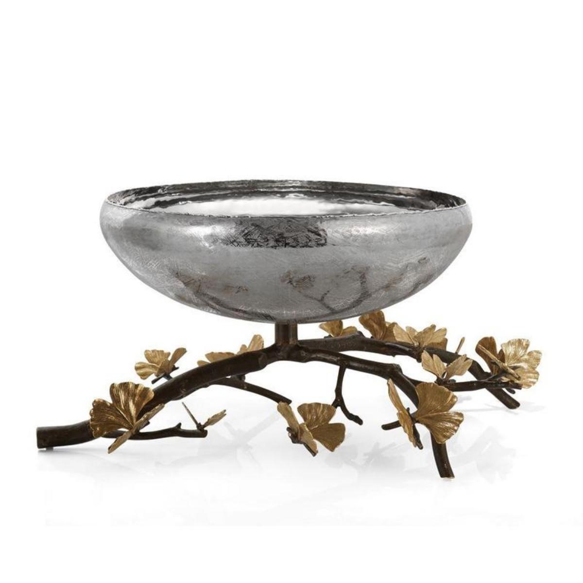 Michael Aram I Butterfly Ginkgo Large Centerpiece Bowl