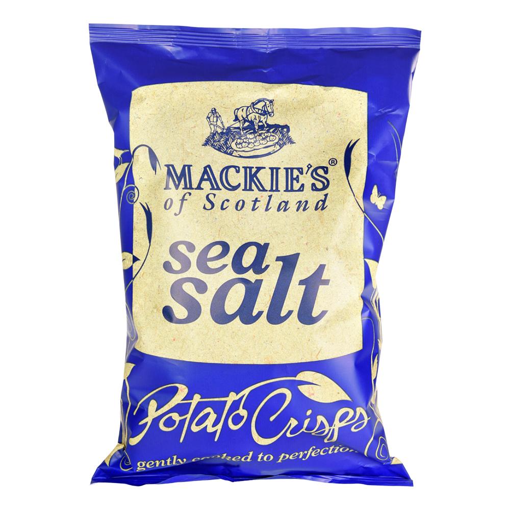 Mackie's Sea Salt Chips - 40 gram