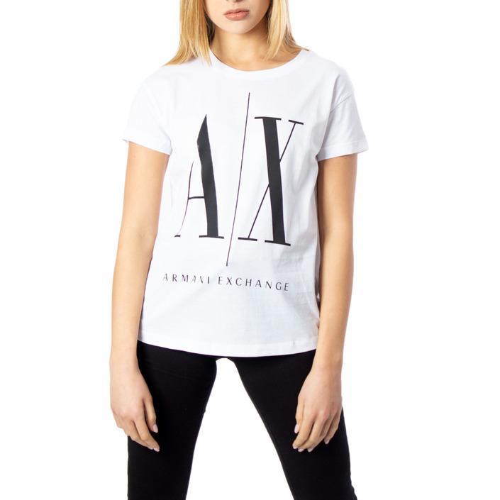 Armani Exchange Women's T-Shirt White 170547 - white XS