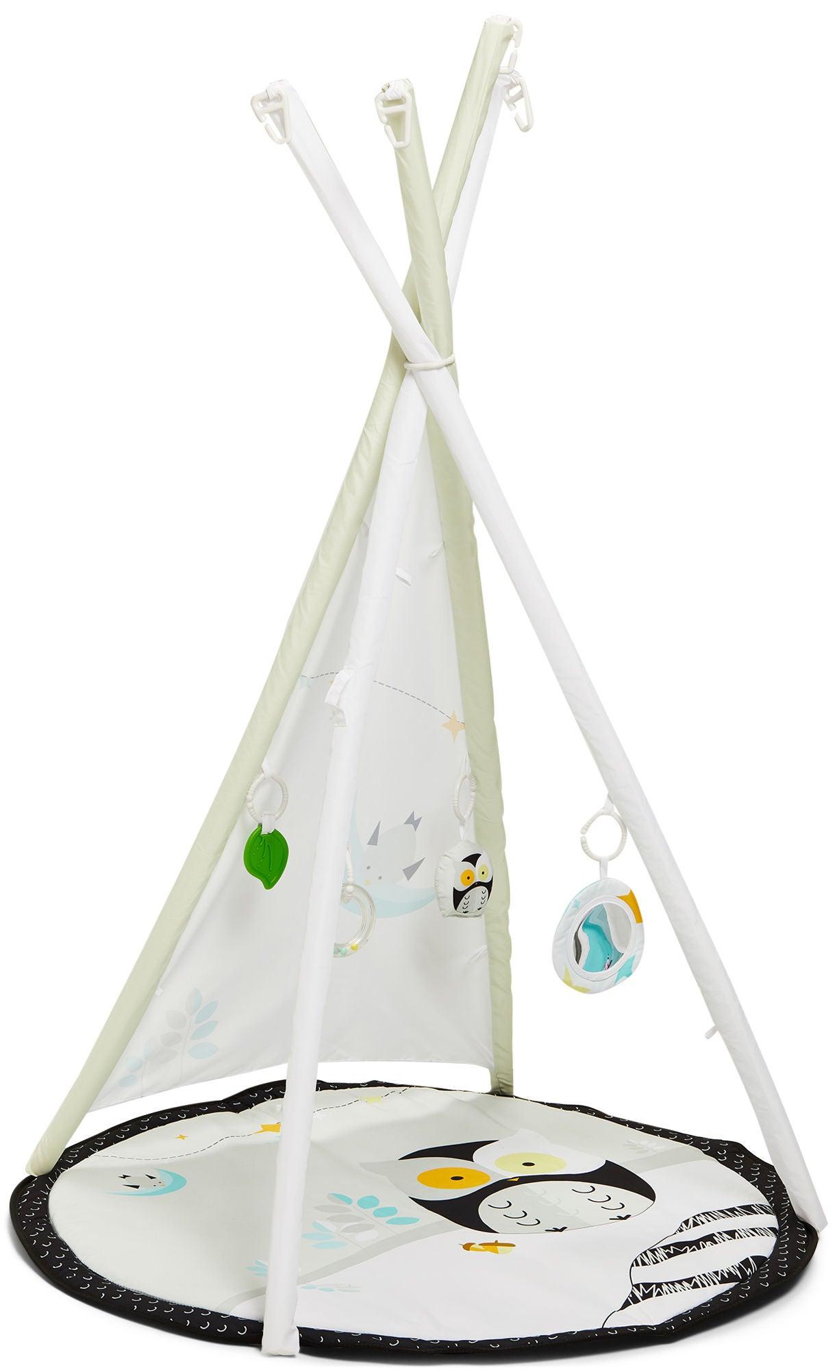 Beemoo Camping Vibe Leikkimatto Owl