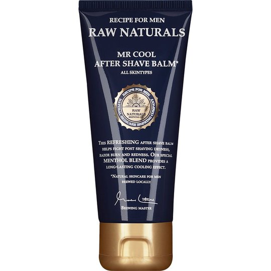 Raw Naturals Mr Cool After Shave Balm, 100 ml Raw Naturals by Recipe for Men Parranajon jälkeen