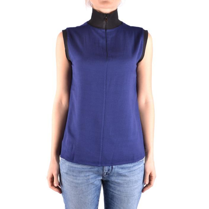 Jacob Cohen Women's Top Blue 162539 - blue S