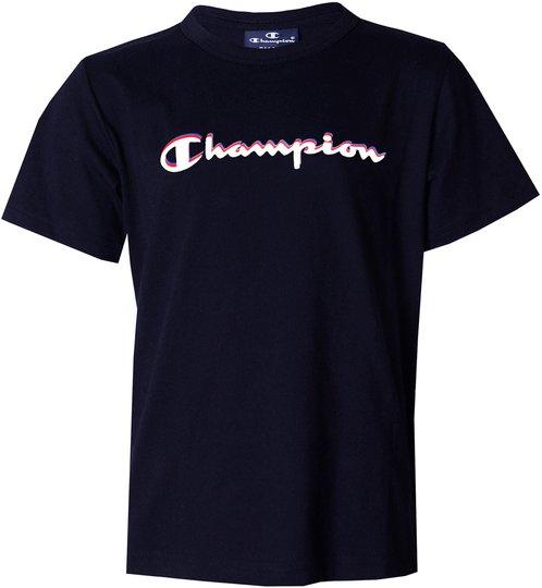 Champion Kids Crewneck T-Shirt, Sky Captain Blue XS