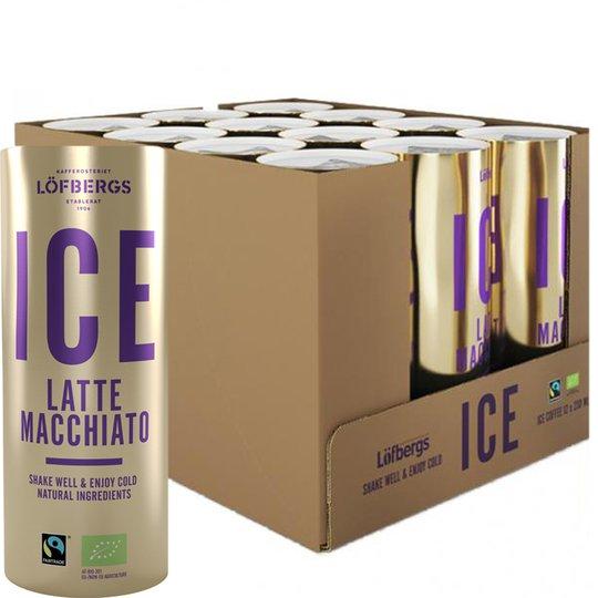 Luomu Maitokahvijuomat Latte Macchiato 12kpl - 57% alennus