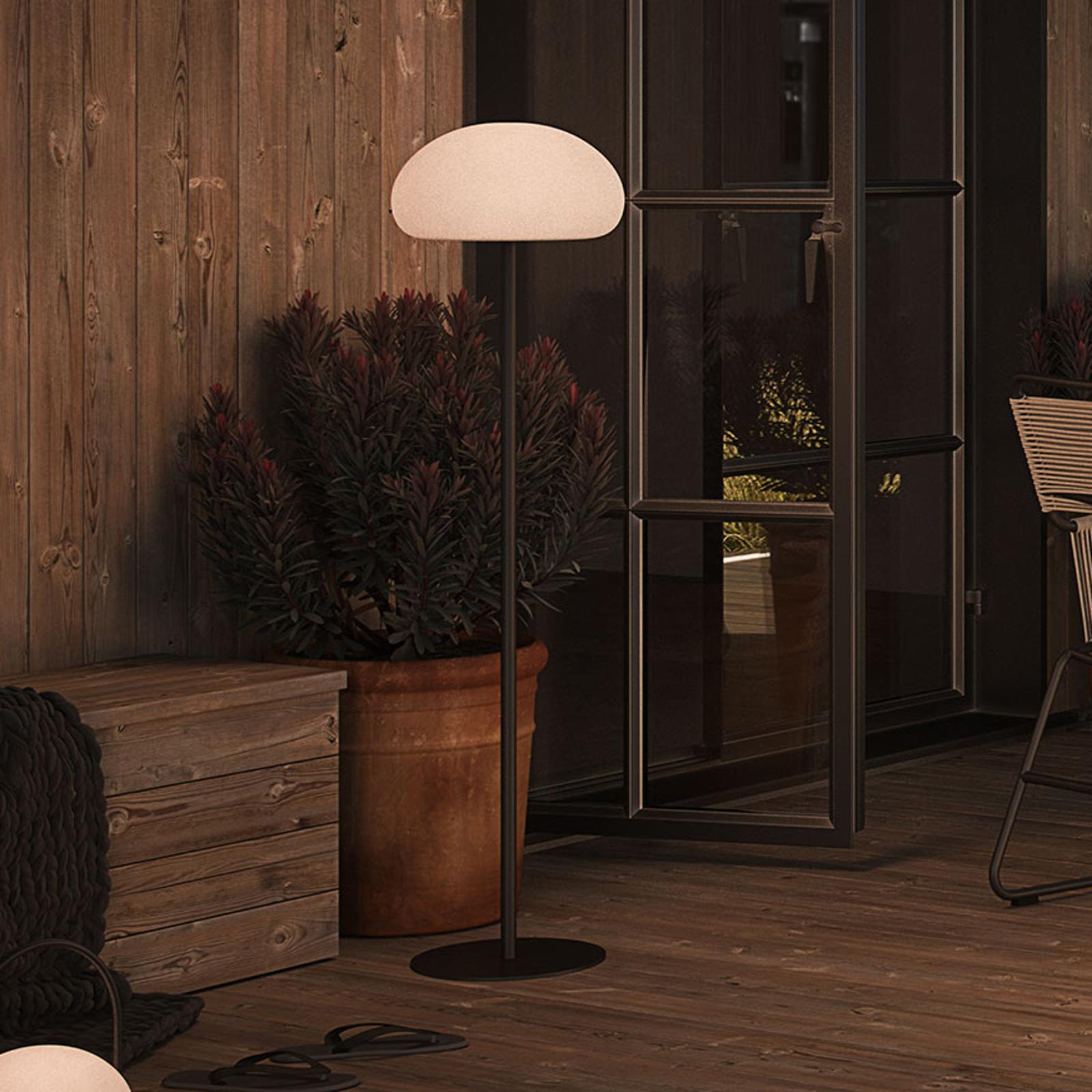 Sponge floor -LED-lattiavalaisin terassille