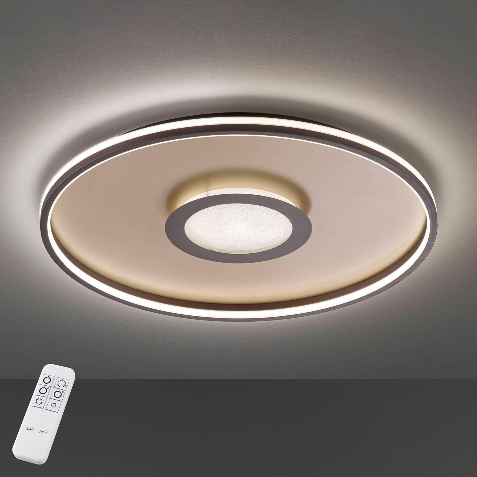 Bug LED-taklampe rund, rust 45 cm