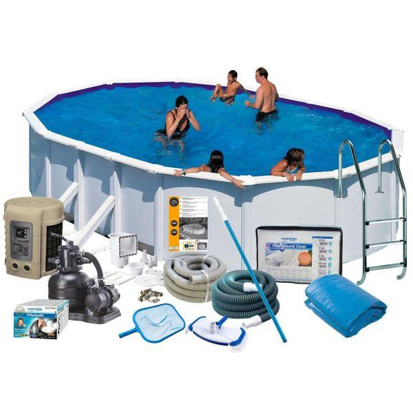 Swim & Fun 2746 Allaspaketti 5 x 3 x 1,32 m, 16 210 l