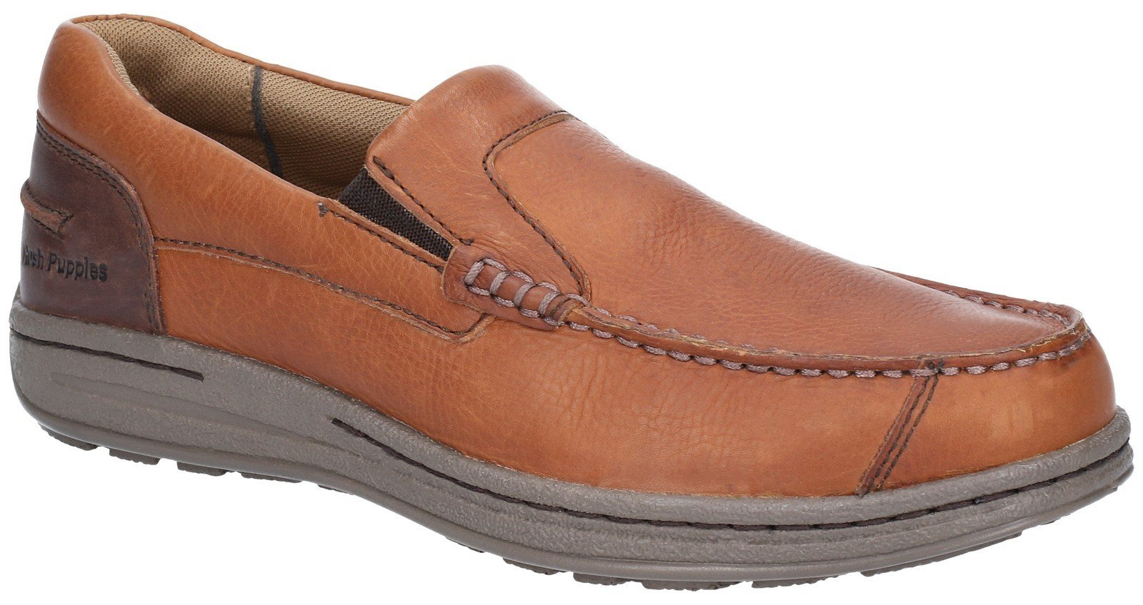 Hush Puppies Men's Murphy Victory Slip On Shoe Tan 28369 - Tan 6