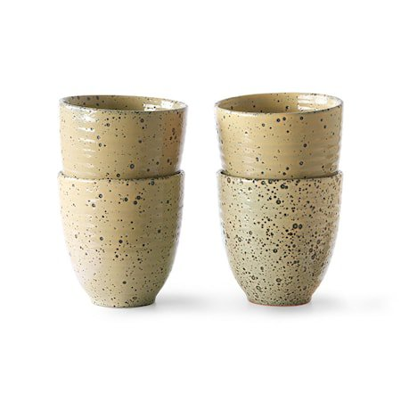 Gradient Ceramics Kopp Peach 4 stk