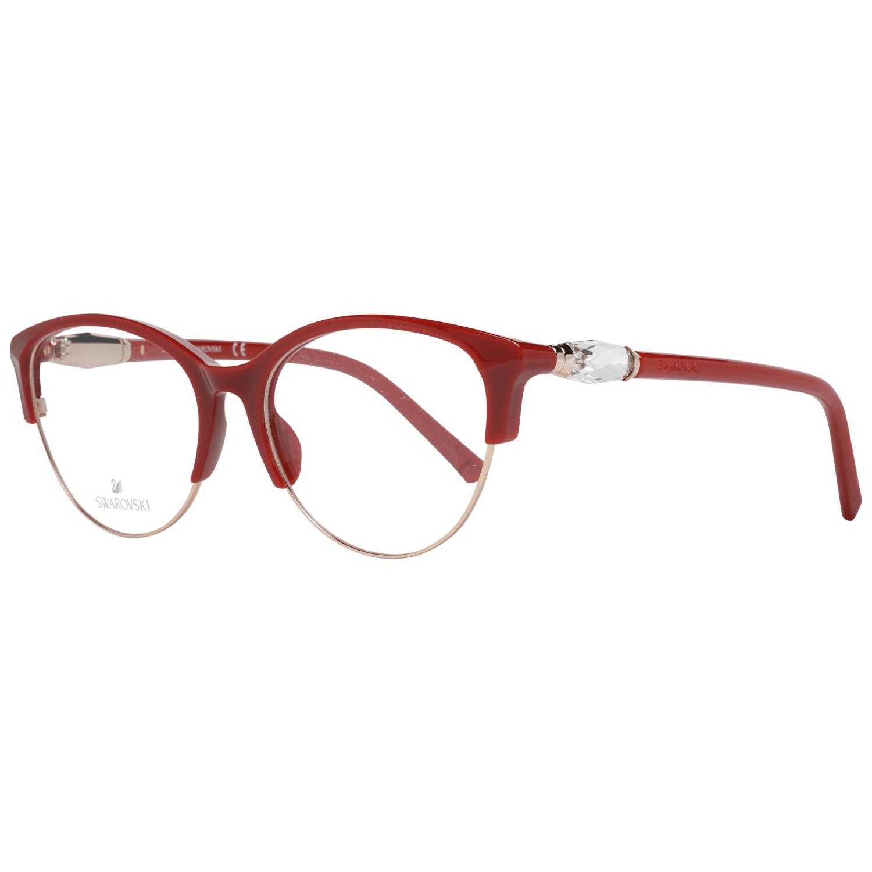 Swarovski Women's Optical Frames Eyewear Rose Gold SK5338 53028
