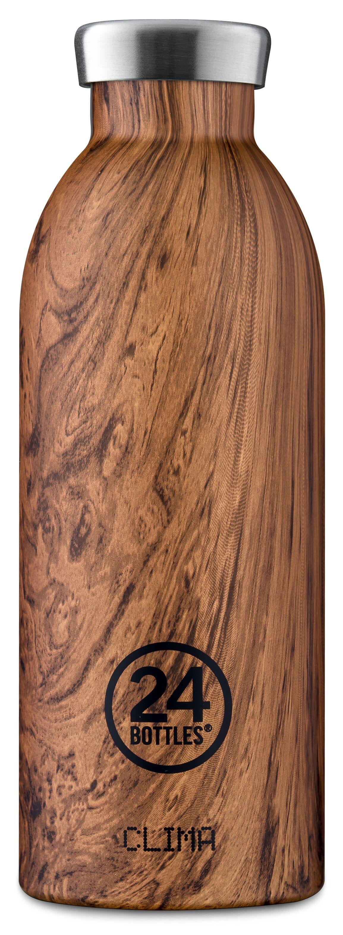 24 Bottles - Clima Bottle 0,5 L - Sequoia Wood Print (24B156)