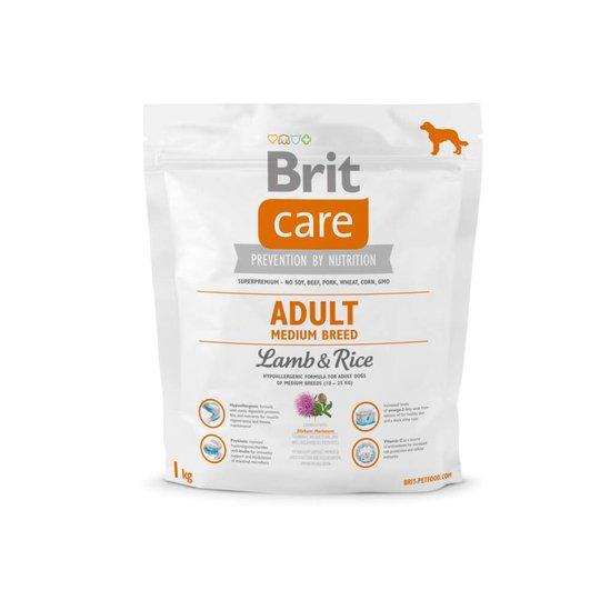 Brit Care Adult Medium Lamb & Rice (1 kg)