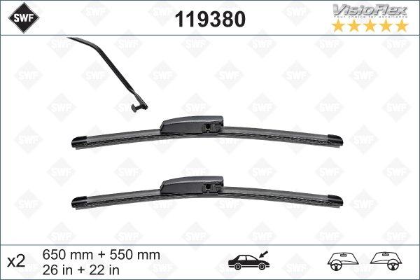 Flatbladesats 650/550