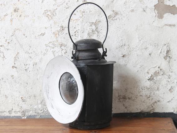 Vintage Railway Lantern - Large Medium