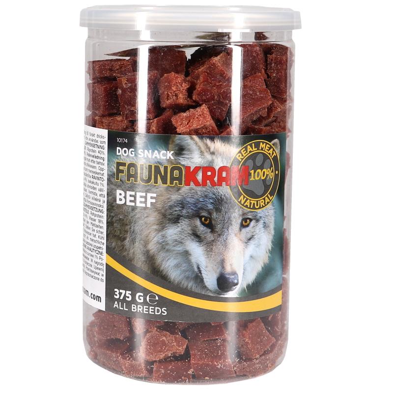 Koiranherkut Naudanlihapalat - 72% alennus