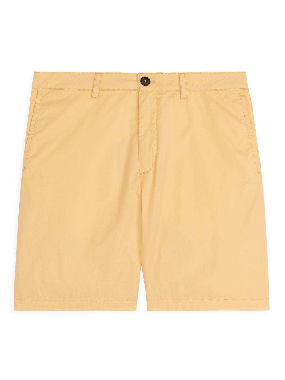 Cotton Shorts - Yellow