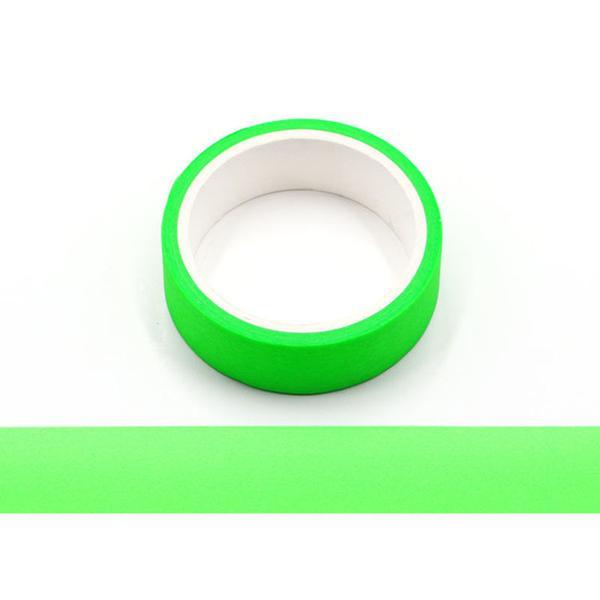 Neon Green Washi Tape