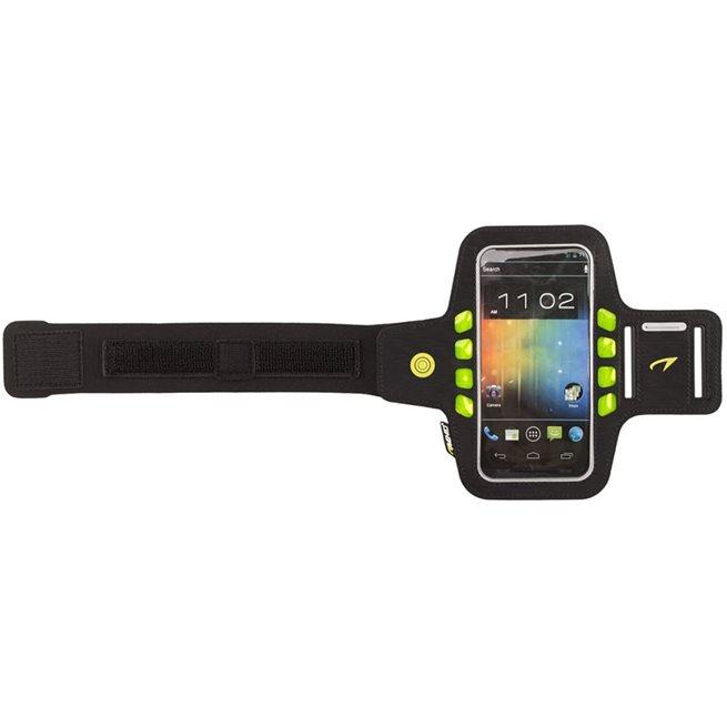 vidaXL Smartphone sportarmband svart