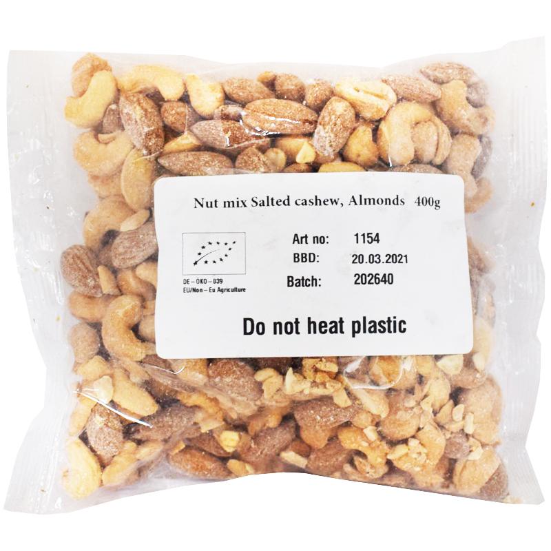 Eko Nötmix Cashewnötter & Mandel - 20% rabatt