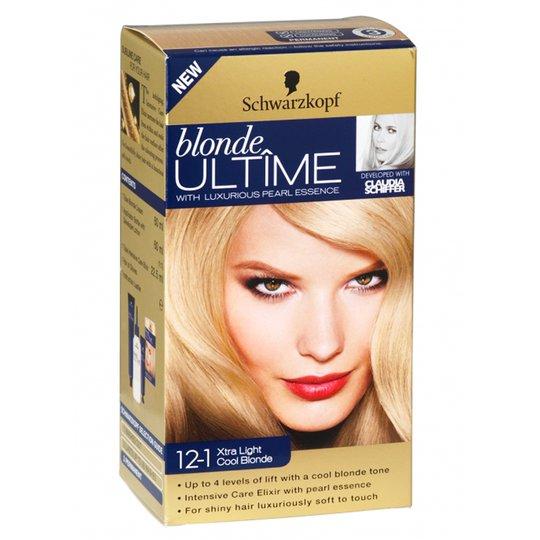 """Hårfärg Blondering """"12-1 Xtra Light Cool Blonde"""" - 51% rabatt"""