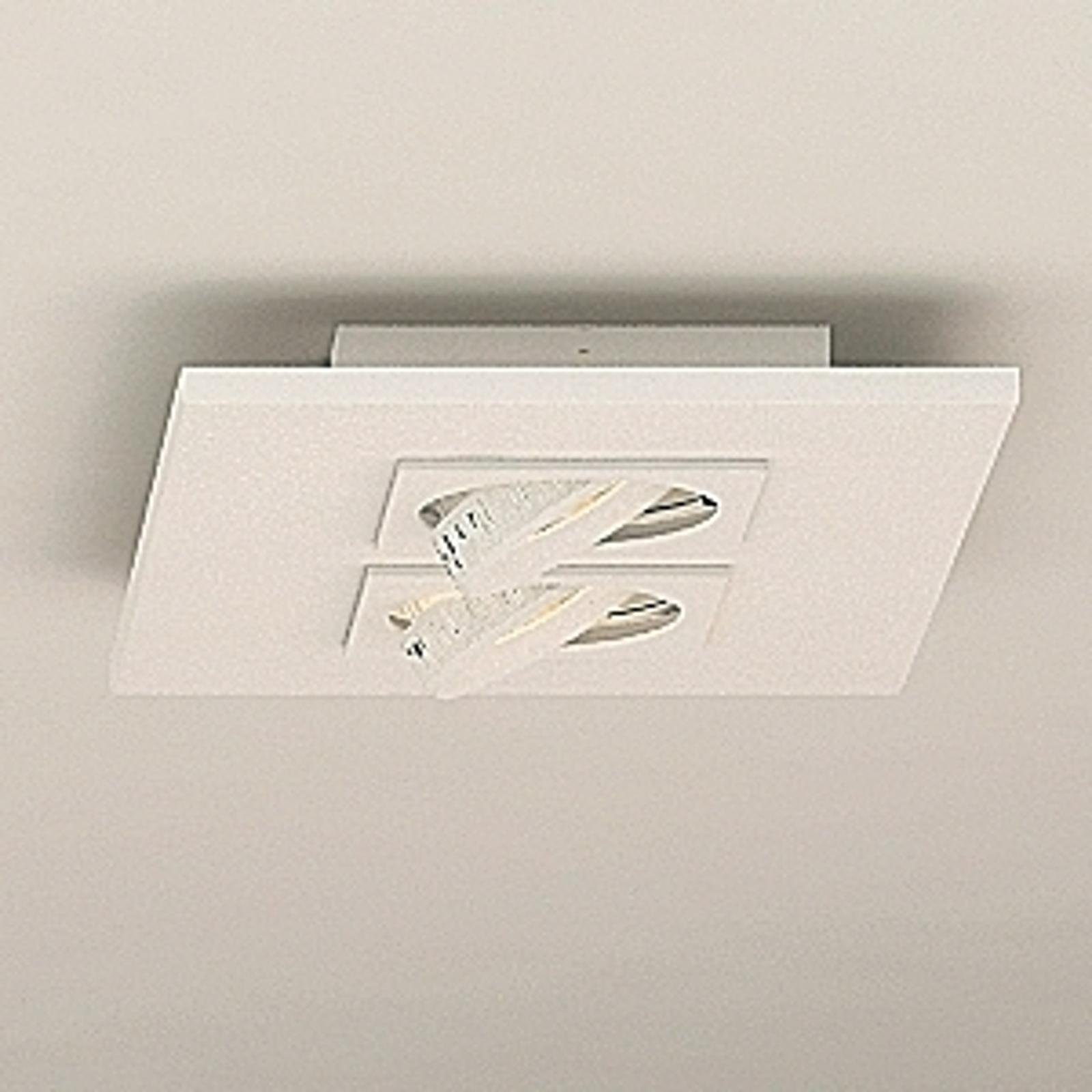 Milan Marc -LED-kattovalaisin, 2-lamppuinen