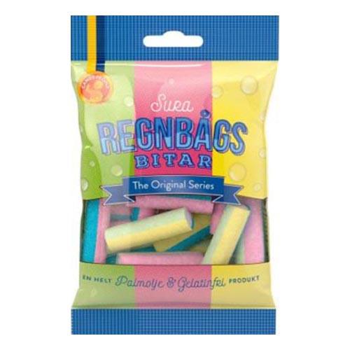 Sura Regnbågsbitar - 80 gram
