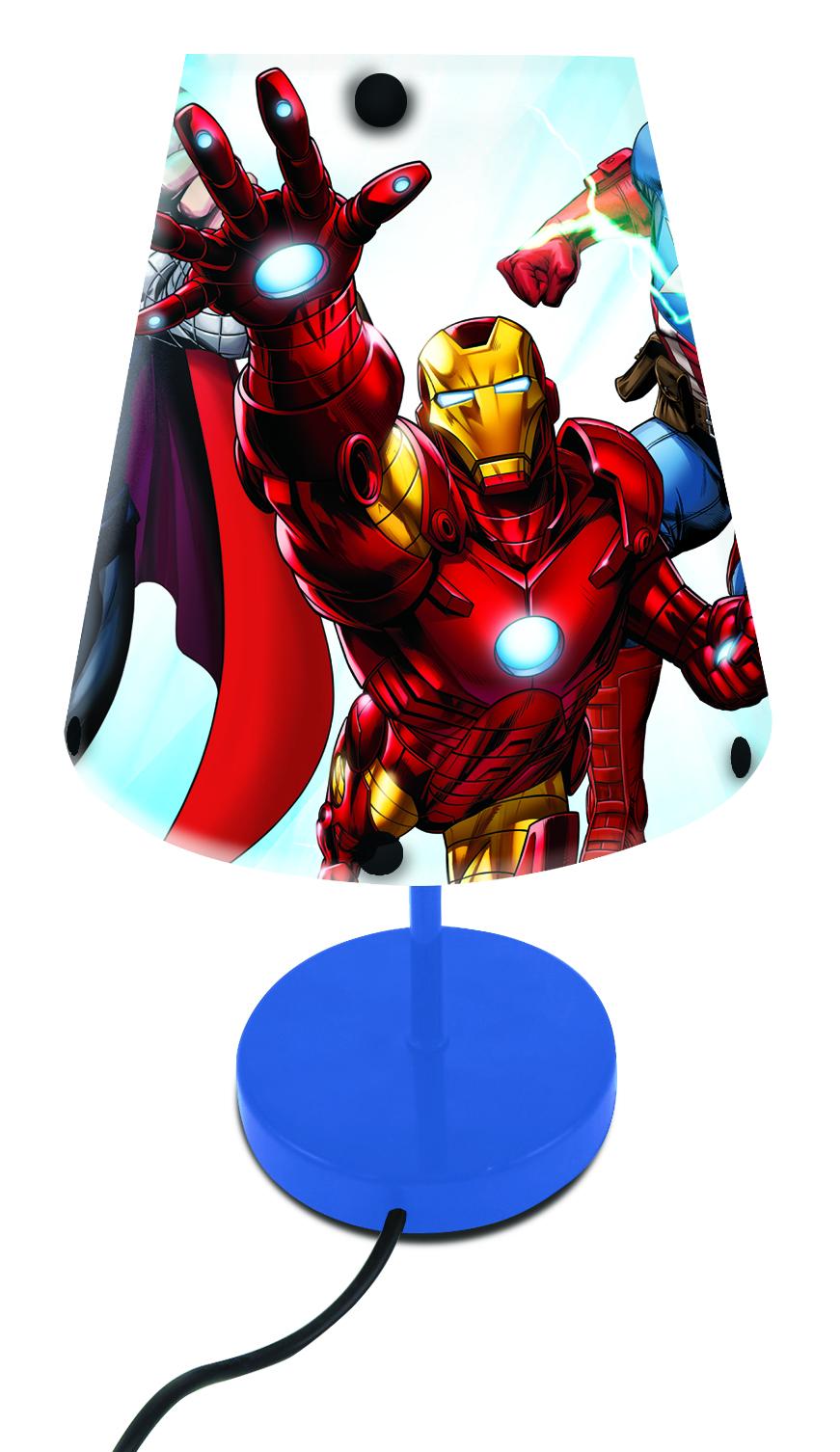 Lexibook - Avengers Table Lamp (LT010AV)