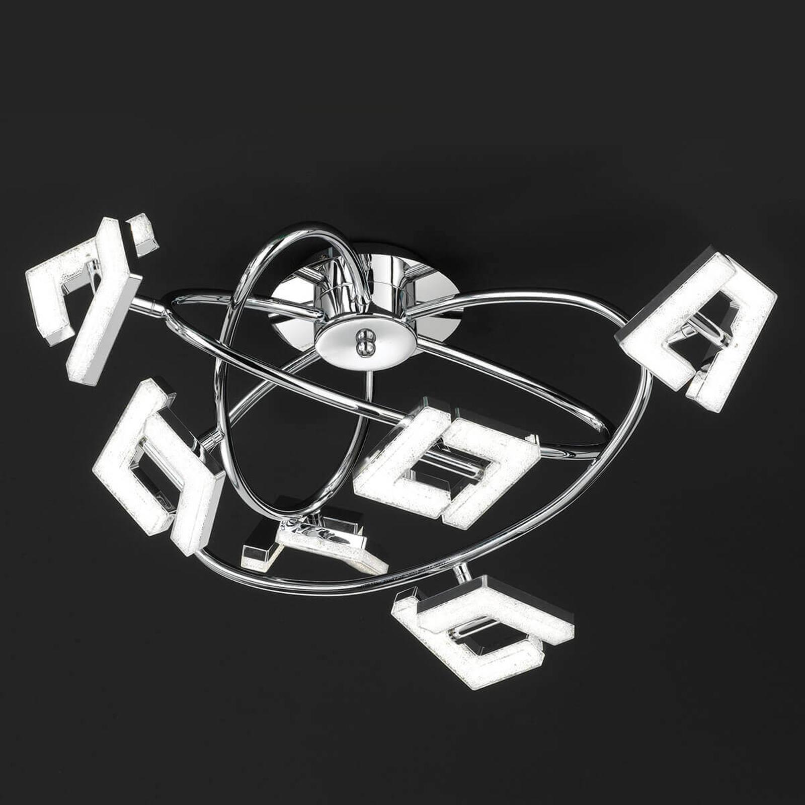Huippumoderni LED-kattovalaisin Lea - 6-lamppuinen