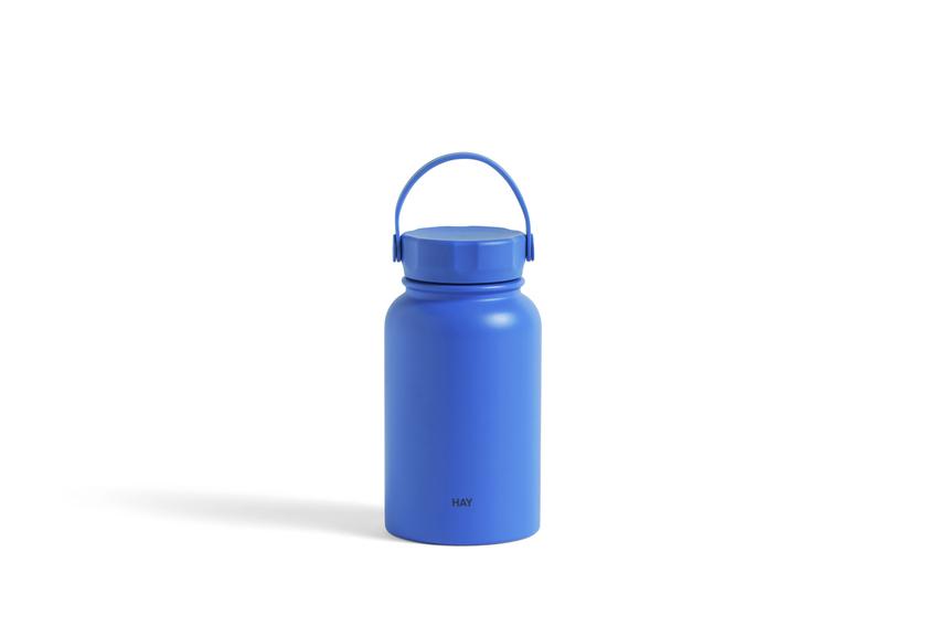 HAY - Mono Thermal Bottle - 0,6 l, Sky blue