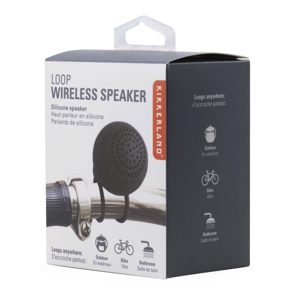 Black Loop Wireless Speaker (US126-BK-EU)