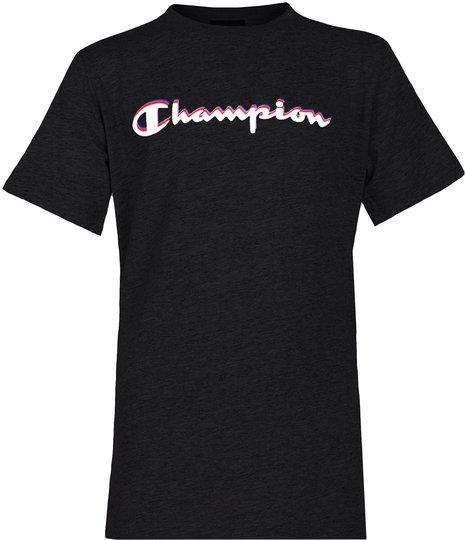 Champion Kids Crewneck T-Shirt, Anthracite S