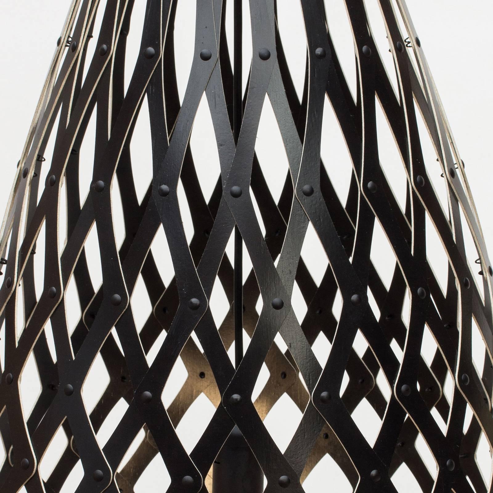 david trubridge Koura -riippuvalo 50 cm musta