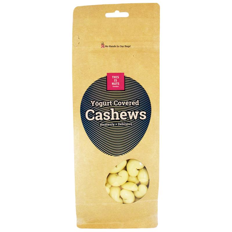 """Cashewnötter """"Yoghurt Covered"""" 500g - 38% rabatt"""