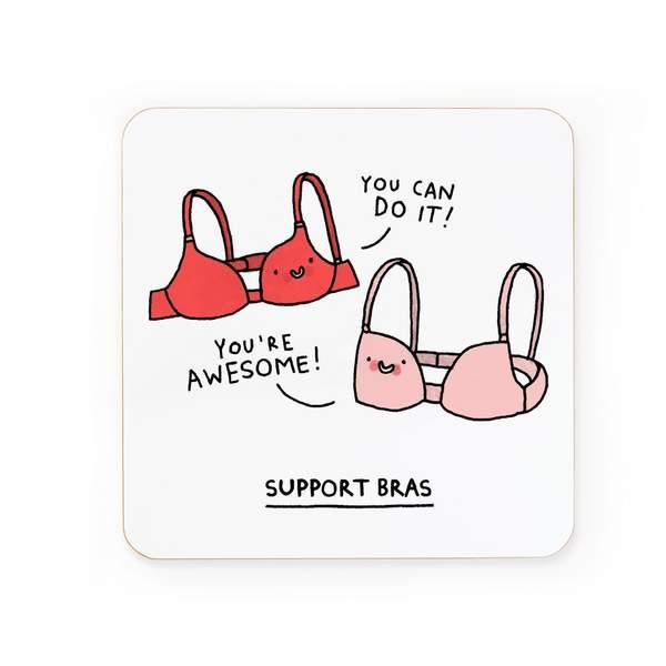Support Bras Coaster