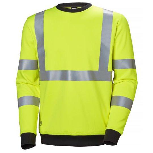 Helly Hansen Workwear Addvis Collegepaita huomiotakki, keltainen Koko S