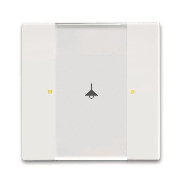 ABB Impressivo 6115-0-0219 Painike 2 ohjauspistettä valkoinen