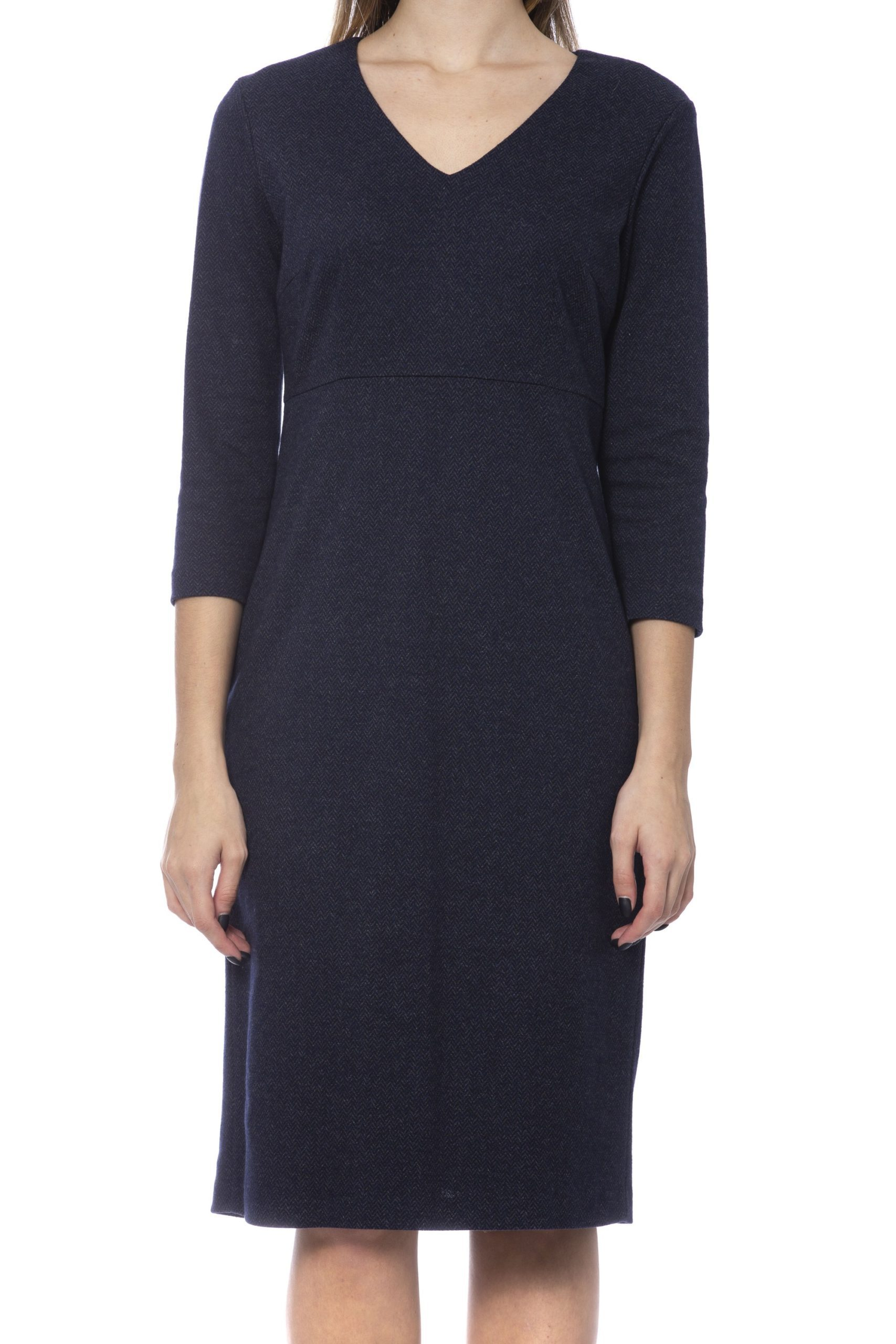 Peserico Women's Dress Blue PE993370 - IT42 | S