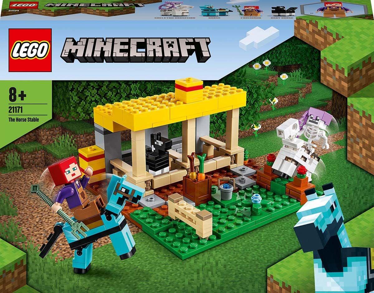 LEGO Minecraft 21171 Hevostalli
