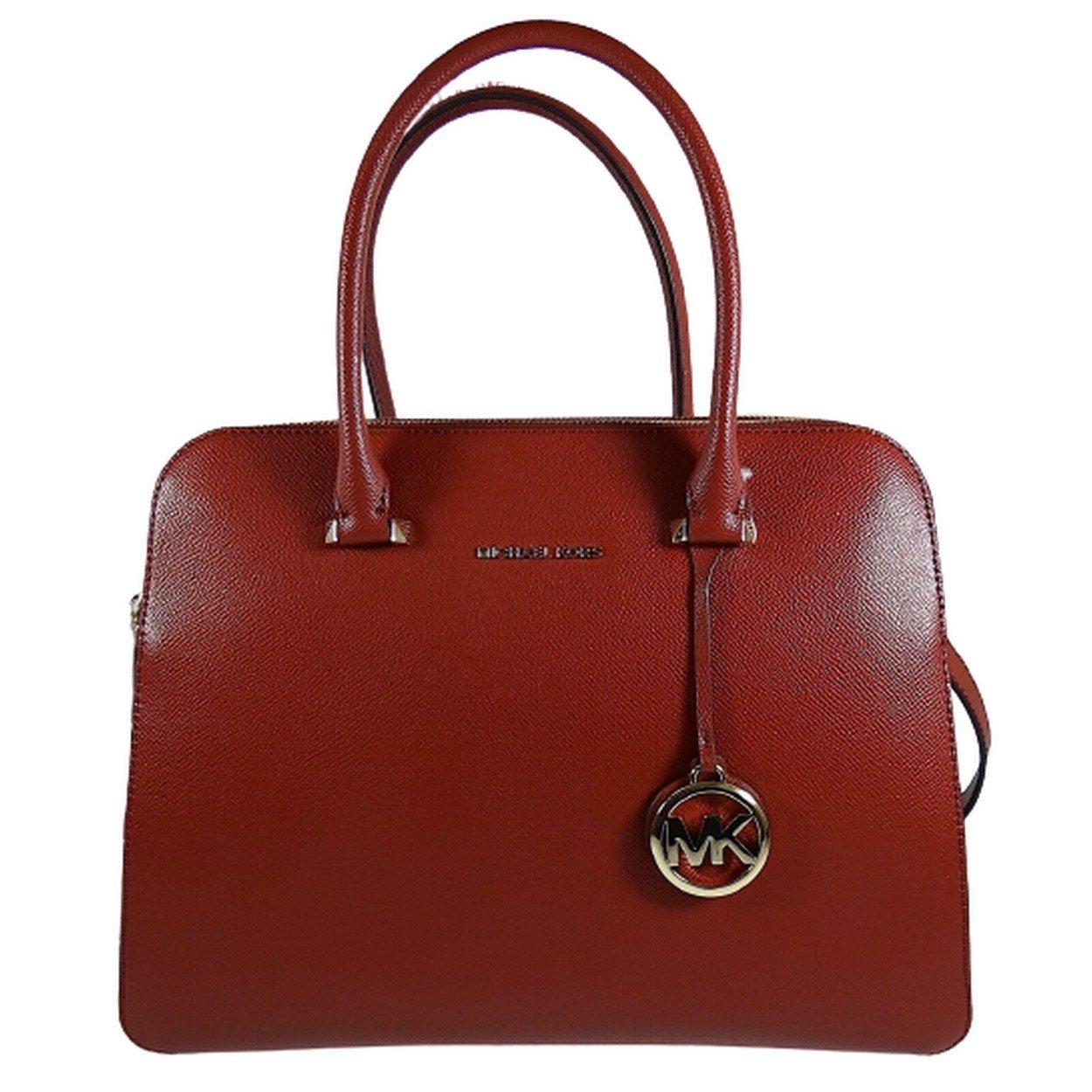 Michael Kors Women's Houston Crossbody Bag Red MK30301