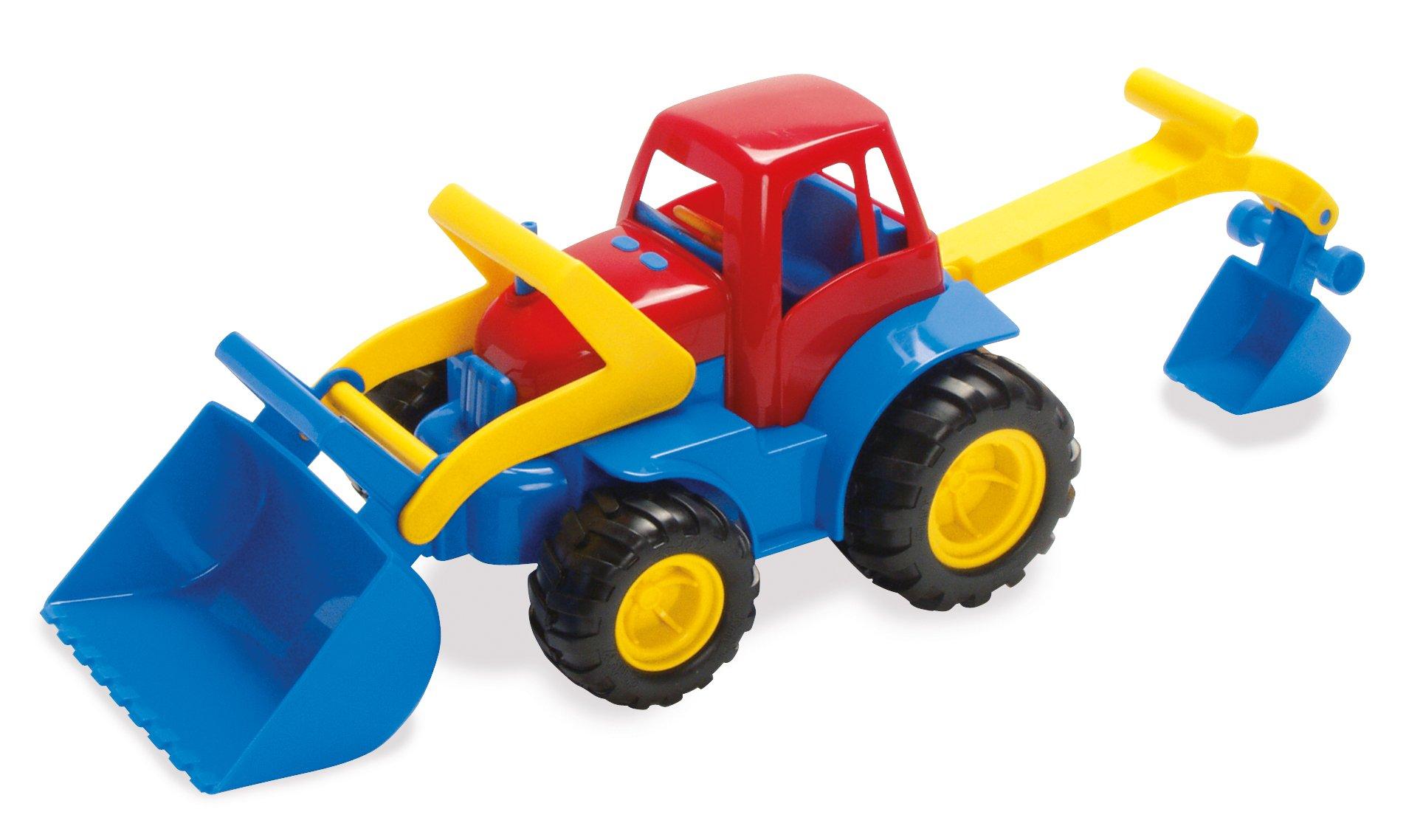 Dantoy - Tractor with Frontloader Excavator (2121)